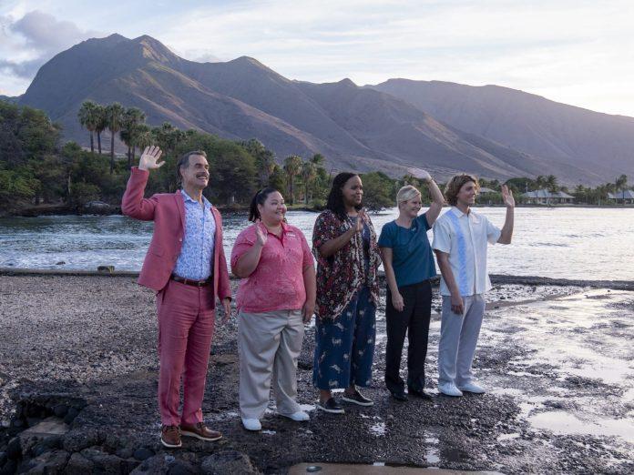 Funcionários do resort White Lotus, nome da série da HBO Max