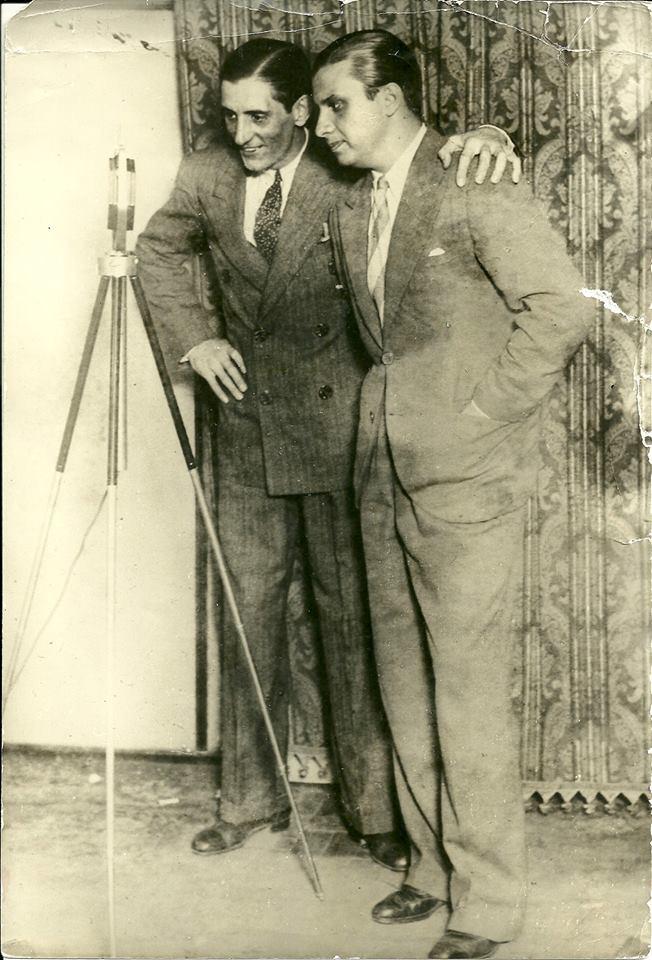 Os pioneiros Francisco Alves e Mário Reis
