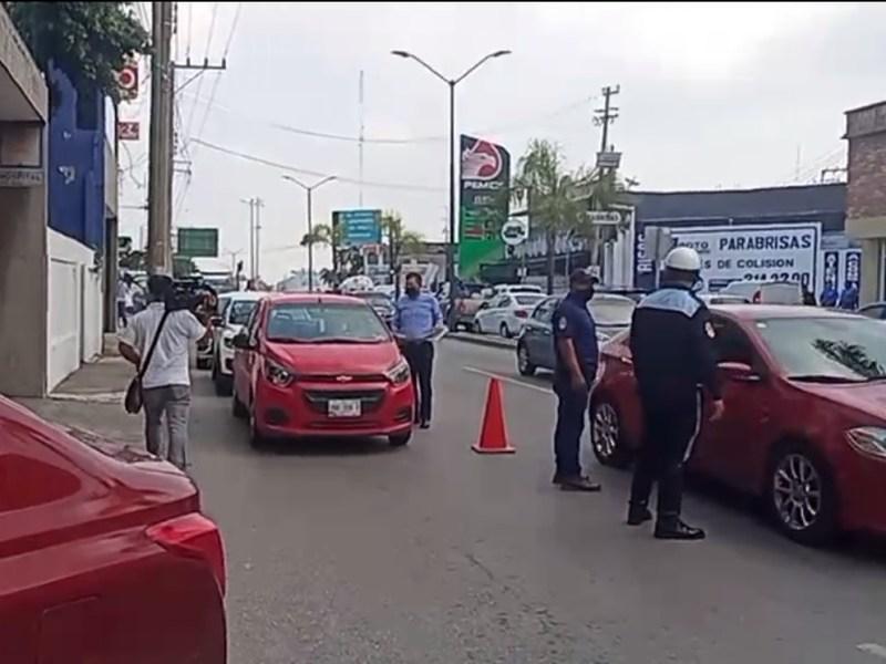 Realiza Tampico operativo a choferes de Uber y Didi