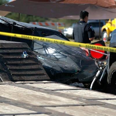 Accidente en carrera de autos mata