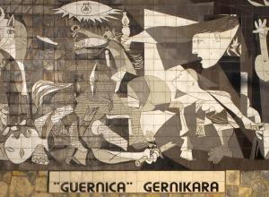 Mural del Gernika - Guernica (quadro) (Papamanila)