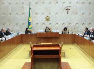 Sessão plenária do Supremo Tribunal Federal (Carlos Moura/SCO/STF)