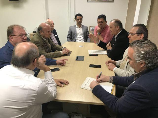 G6 em reunião na Câmara (Cristiane Soethe)