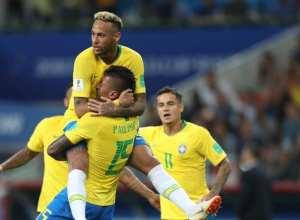 Brasil derrotou os sérvios com gols de Paulinho e Thiago Silva (CBF)