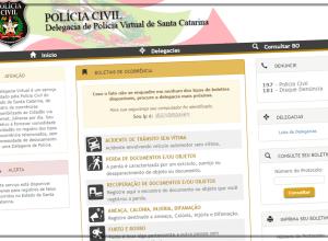Delegacia Virtual de Santa Catarina