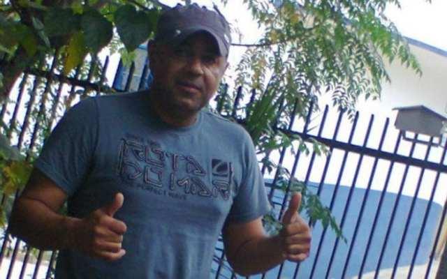 Roberio Cesar foi assassinado com vários tiros - foto do Facebook pessoal