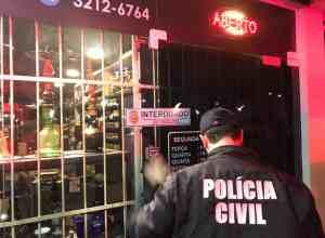 Polícia Civil fecha tabacarias em situação irregular - foto da PC