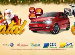 Magia de Natal da CDL de Blumenau