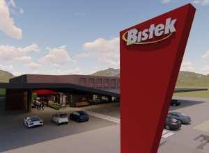 Projeto da nova unidade do Bistek em Nova Veneza