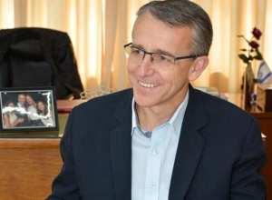 Mário Hildebrandt, prefeito de Blumenau