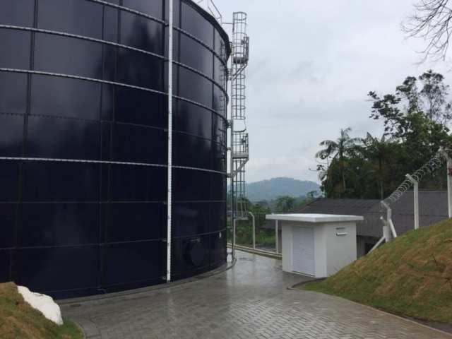 Novo reservatório Itoupavazinha
