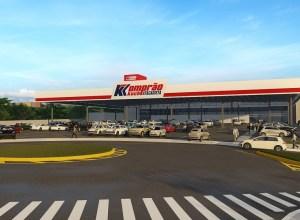 Nova loja do Komprão Koch em Blumenau