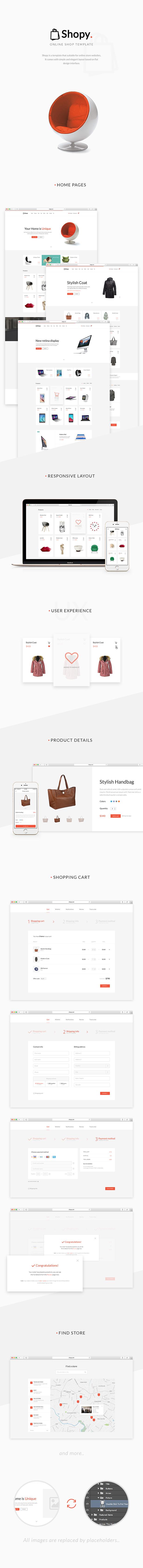 Shopy - Ecommerce WordPress Theme - 5