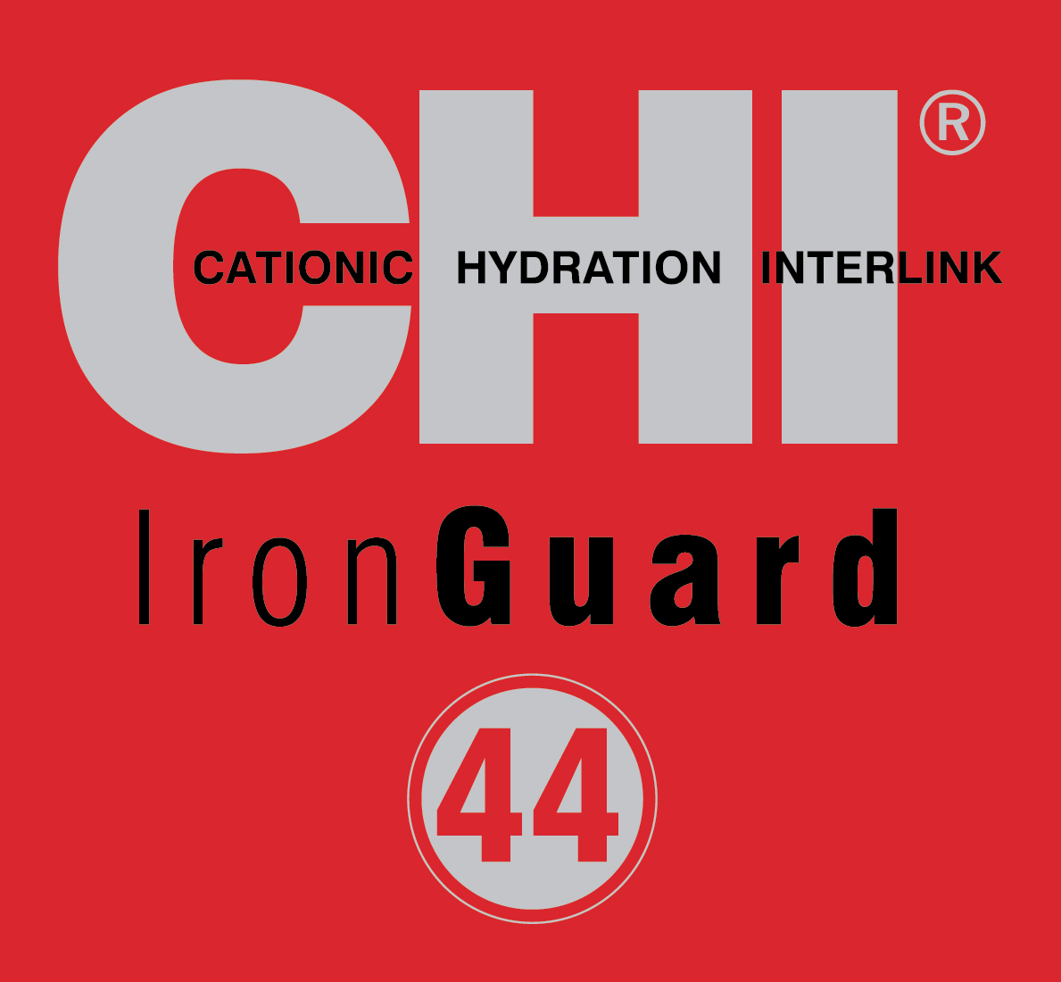 CHI Iron Guard 44 Logo Red - CHI 44 IRON GUARD