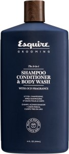 Esquire Grooming 3in1 Shampoo Conditioner Body Wash 14oz 136x300 - ESQUIRE