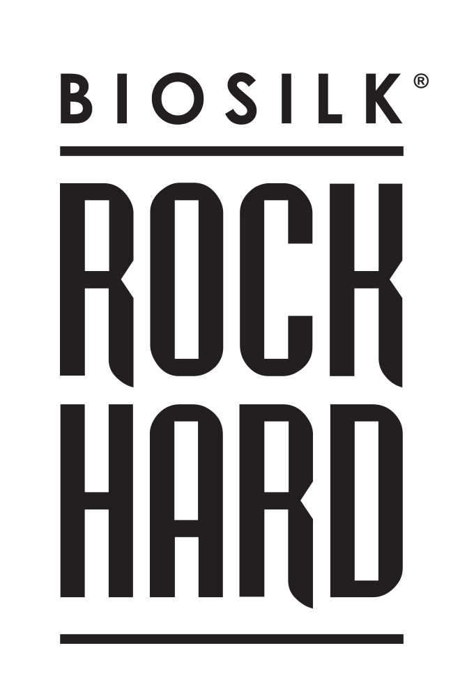 BioSilk Rock Hard logo - BIOSILK ROCK HARD
