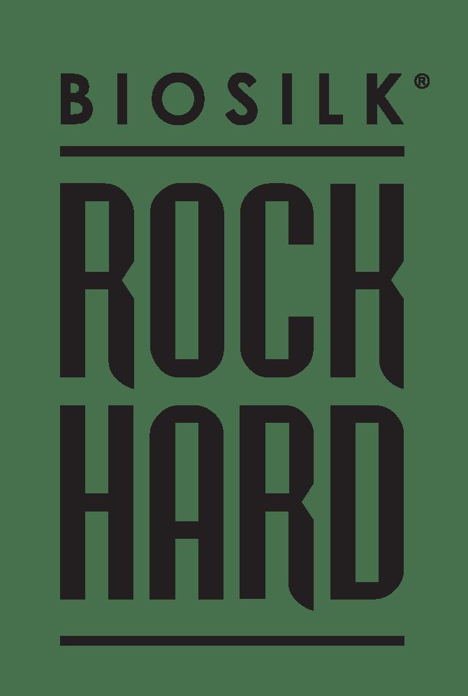 BioSilk Rock Hard logo - BIOSILK