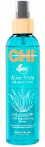 CHI Aloe Vera Curl Reactivating Spray 6oz 300 92x300 - CHI ALOE VERA