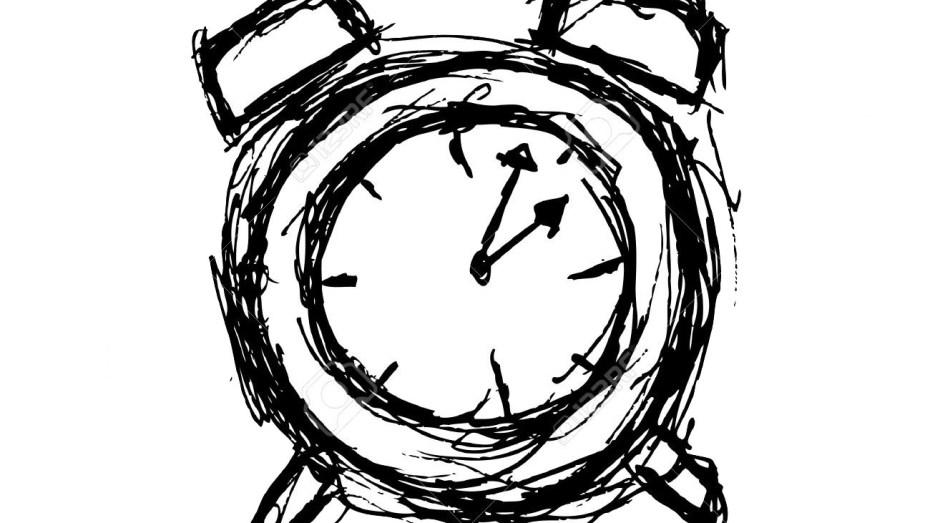 Sketchy Clock