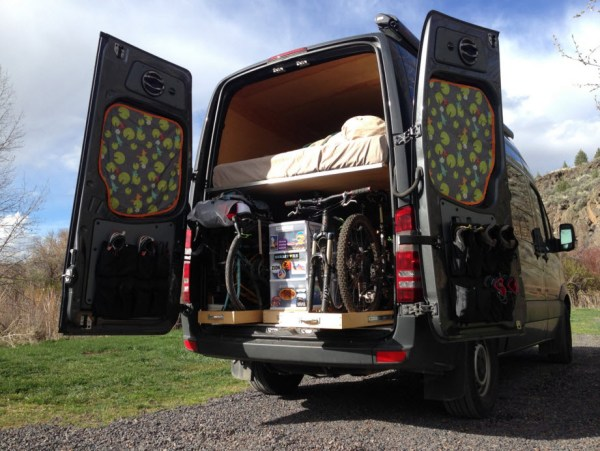 Traipsing About Adventure Sprinter Van