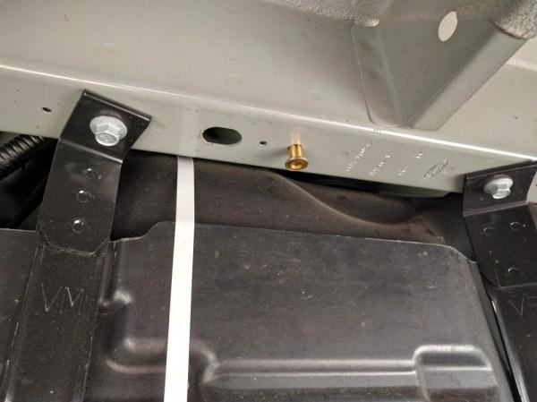 Van Conversion Webasto Air Heater, Cross Nut Fuel Pump