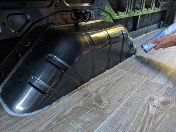 Van Conversion Vinyl Silicone