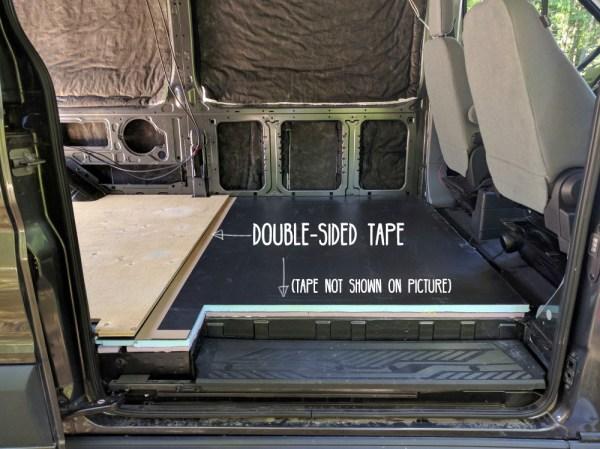 Van Conversion Tape Plywood