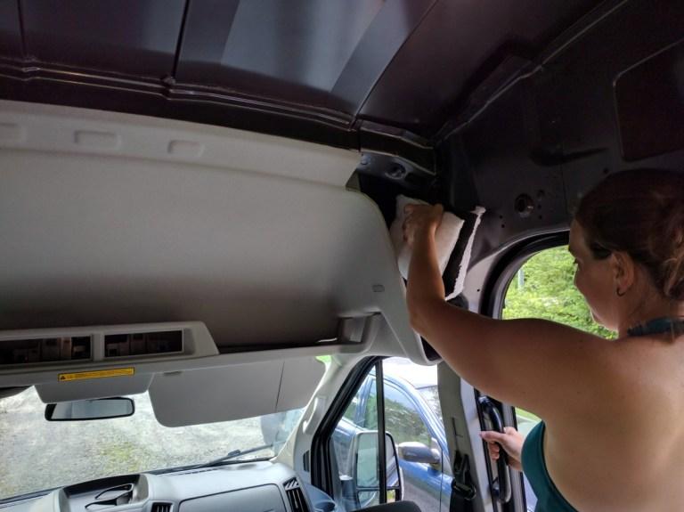 ford-transit-camper-van-thinsulate-installation-12