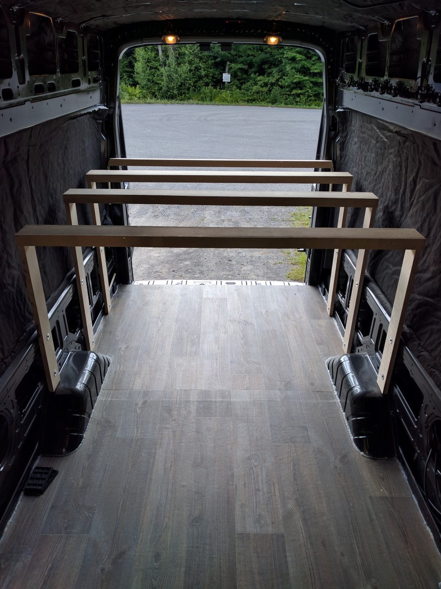 Bed Installation Van Conversion 1