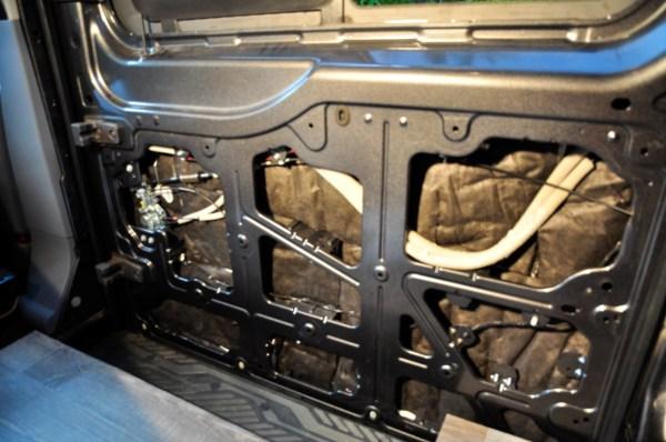 Insulation Camper Van Thinsulate Slider Door