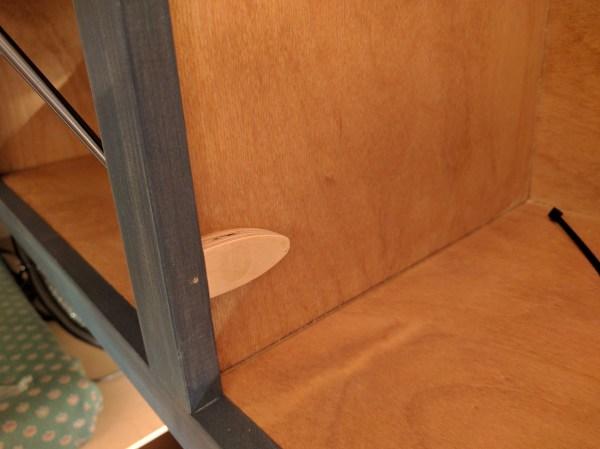 Overhead Storage Cabinet Camper Van Conversion (26)