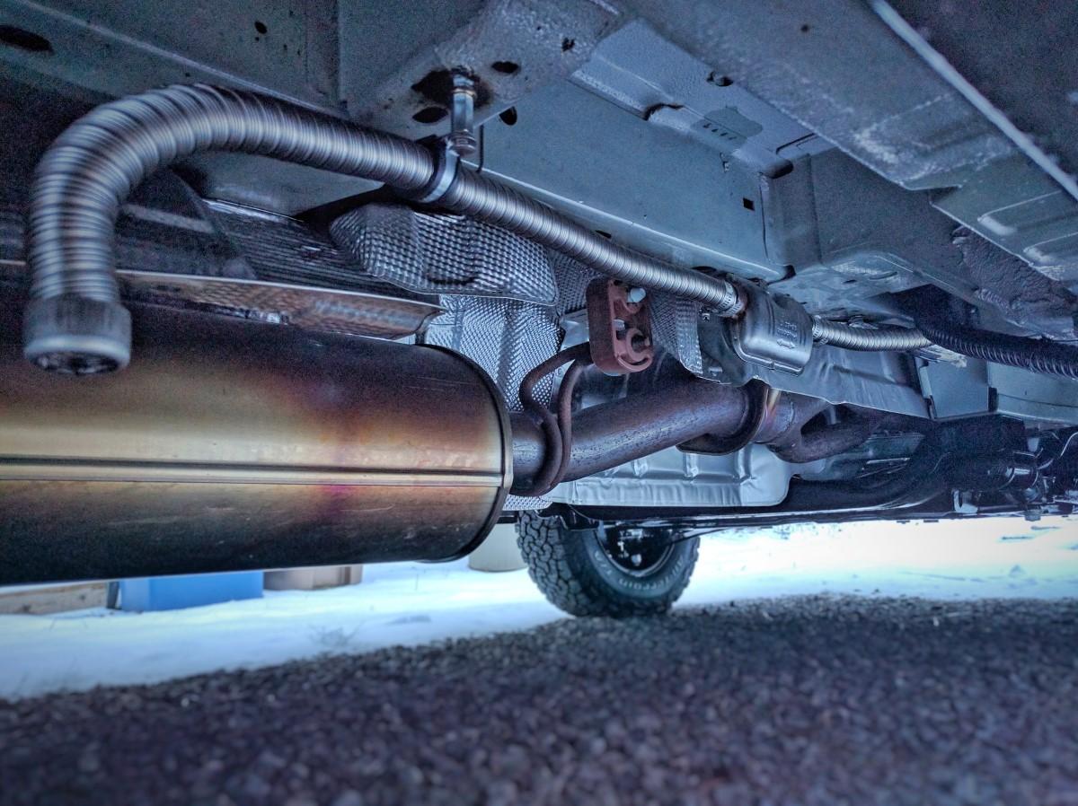 Webasto Air Heater Noise Reduction Faroutride