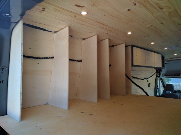 Bed Storage Van Conversion (12)
