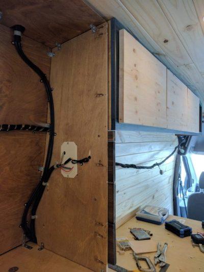 Bed Storage Van Conversion (17)