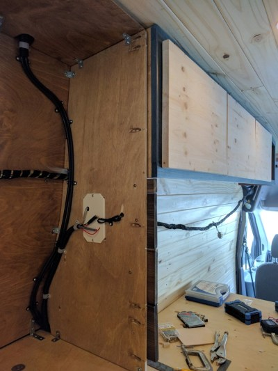 Bed Storage Van Conversion (17)