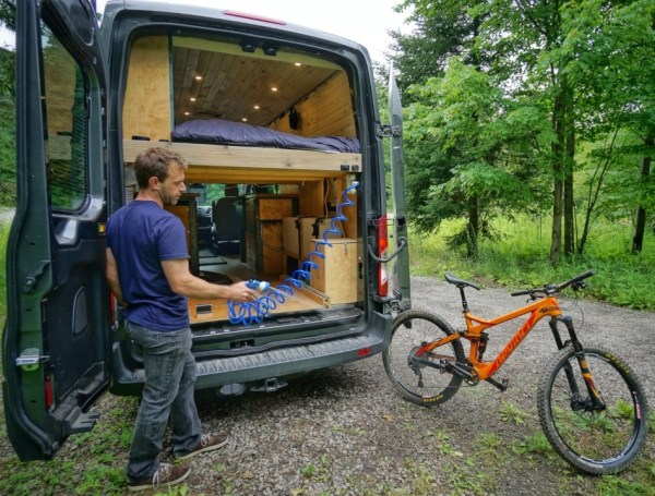 Bike Wash Van Conversion