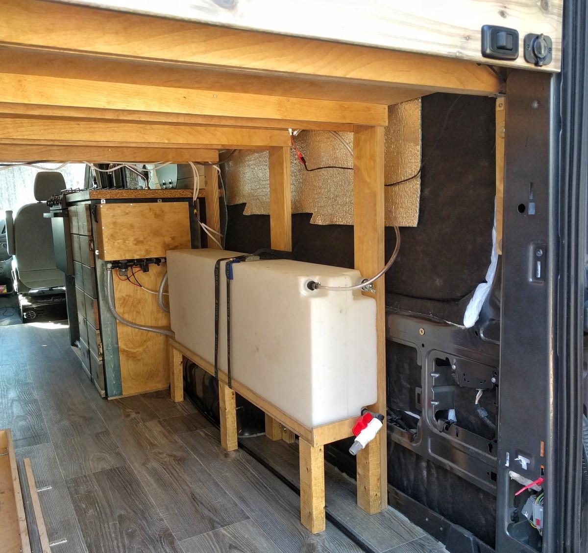Water System Installation Camper Van Conversion 6