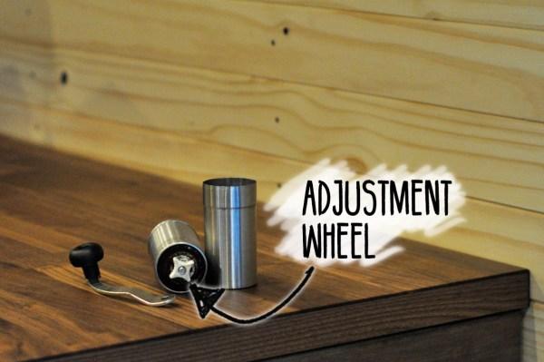 Adjustment-Wheel