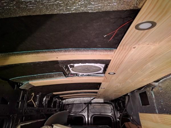 Furring Strips Ceiling Van