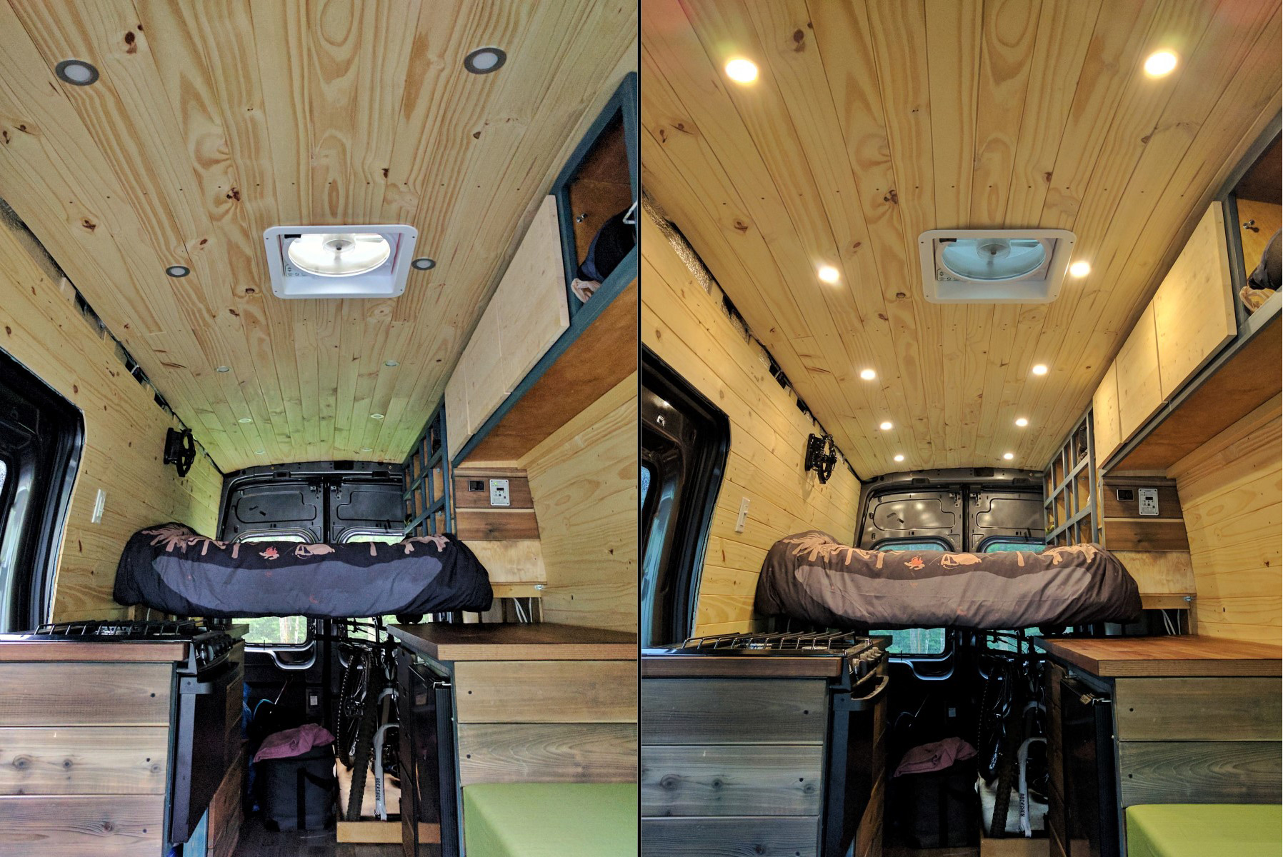 Led Ceiling Lights For Van Conversion  Acegoo 12v  3 Watts
