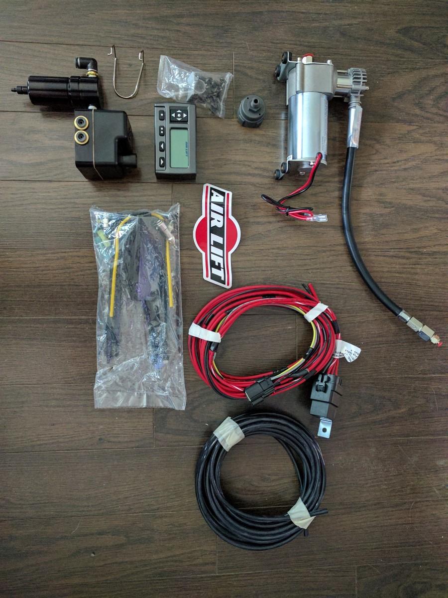 Air Lift Parts : Air lift ultimate springs kit installation