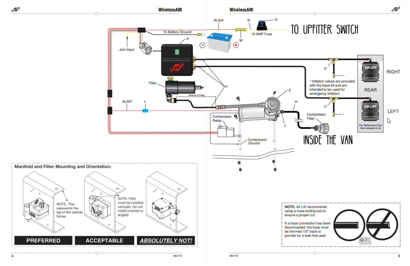 Air Lift Controller Wiring Diagram