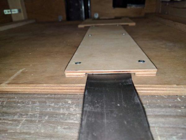 Fridge Floor Vent DIY Campervan Conversion (16)