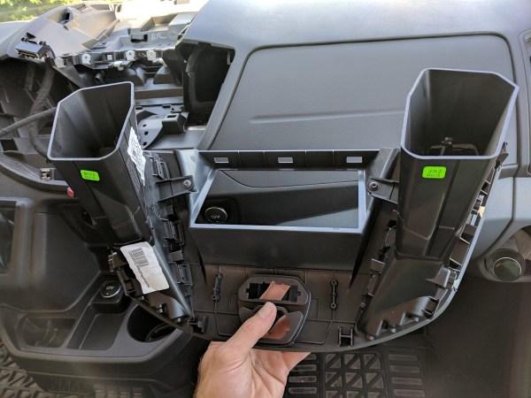 Ford Transit Radio Upgrade DDIN Joying Android (10)