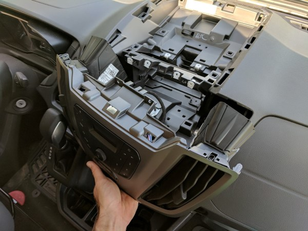 Ford Transit Radio Upgrade DDIN Joying Android (5)