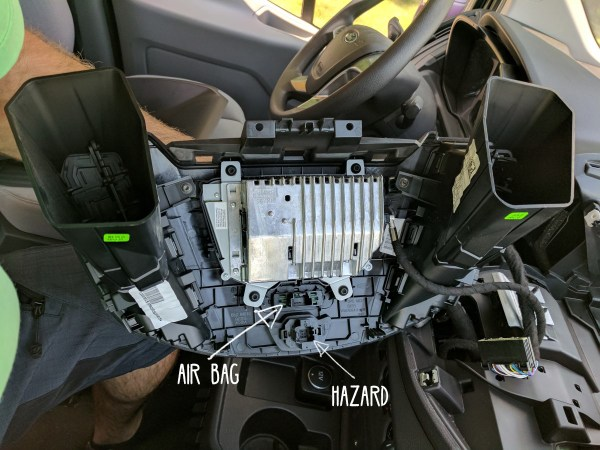 Ford-Transit-Radio-Upgrade-DDIN-Joying-Android-(6)