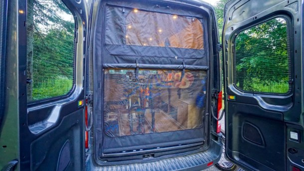 Mosquito Screens Ford Transit Van (3)