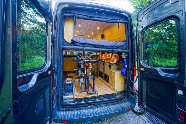 Mosquito Screens Ford Transit Van (4)