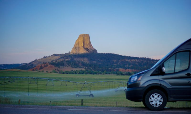 Devil Towers, WY