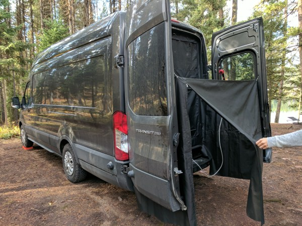 Exterior Shower Campervan Conversion (14)